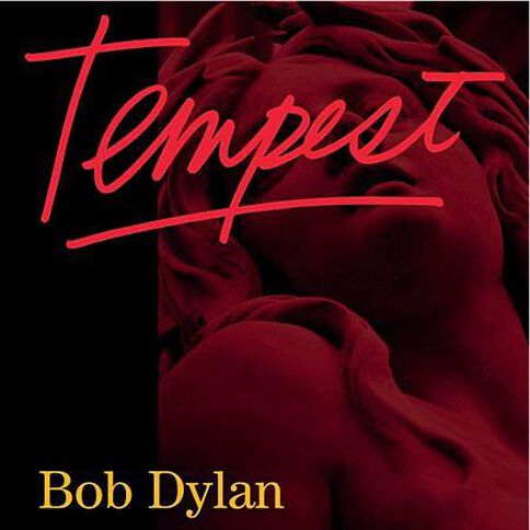Tempest CD by Bob Dylan 1Disc