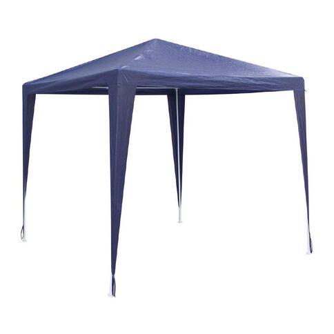 Necessities Brand Gazebo PE Blue 2.4m x 2.4m