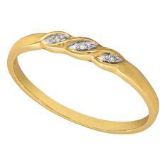 9ct Gold Diamond Fancy Twist Ring