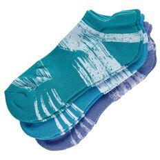 Active Intent Women's Heel Lock Socks 3 Pack
