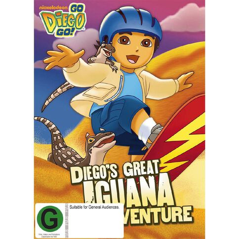 Go Diego Go Diegos Great Iguana Adventure DVD 1Disc