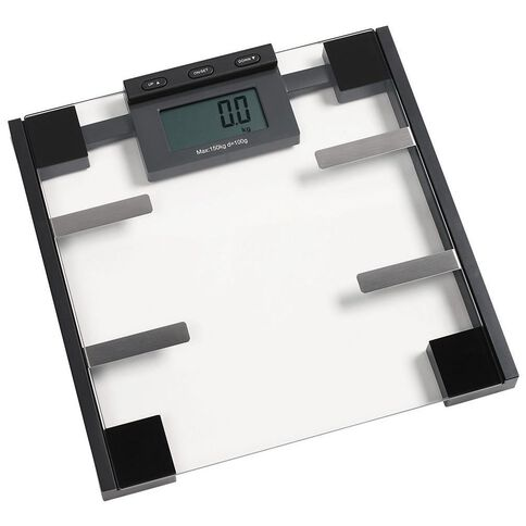 Living & Co Digital Bathroom Scale Body Fat Glass