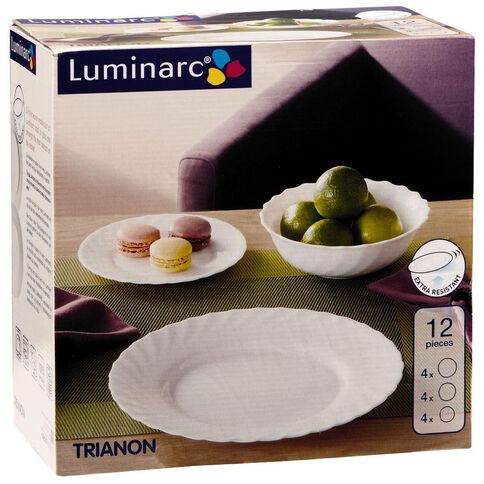 Luminarc Trianon Dinner Set 12 Piece