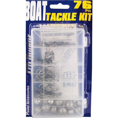 Pro Hunter Fishing Tackle Kit Boat 76 Pack