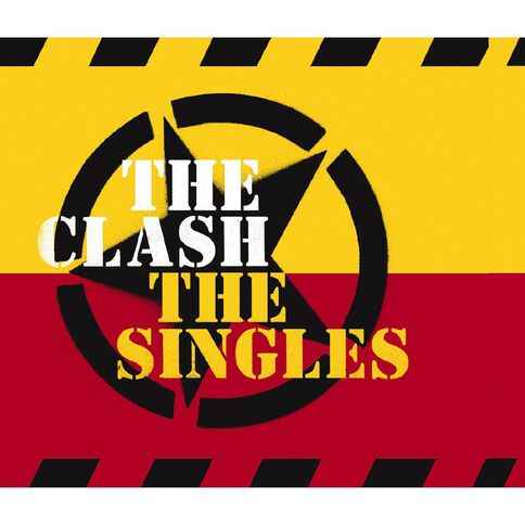 The Singles CD by The Clash 1Disc