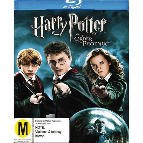 Harry Potter and The Order of The Phoenix Blu-ray 1Disc