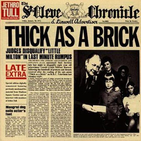 Thick as a Brick CD by Jethro Tull 1Disc