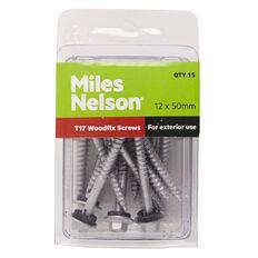 Miles Nelson Woodfix Screws 12mm x 50mm
