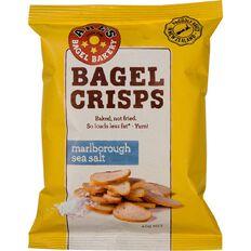 Abe's Bagel Crisps Marlborough Sea Salt 45g