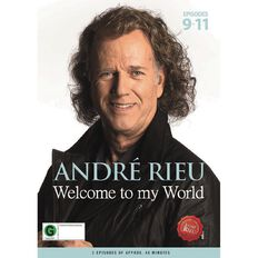 Andre Rieu Welcome To My Word Part 3 DVD by Andre Rieu 1Disc