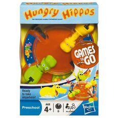 Hungry Hippos Travel Game