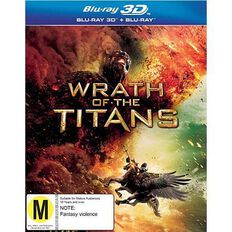 Wrath Of The Titans 3D 2Blu-ray 1Disc