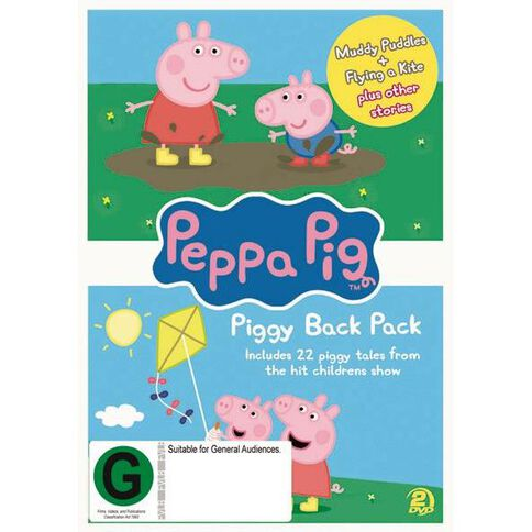 Peppa Pig Piggy Back DVD 2Disc