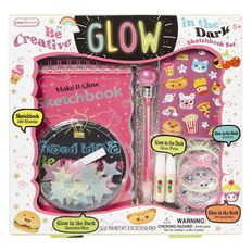 Princess Kits Be Creative Glow Sketchbook