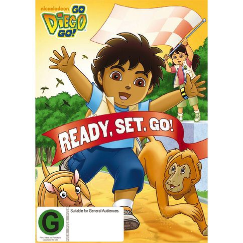 Go Diego Ready Set Go DVD 1Disc