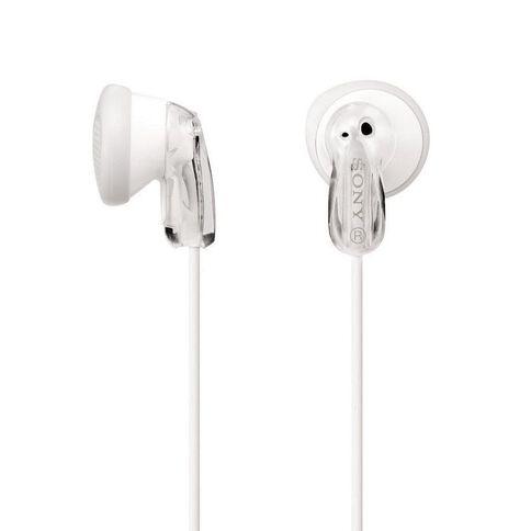 Sony In-Ear Earbud MDRE9LPWI White