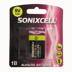 Sonixcell 9V Alkaline Battery