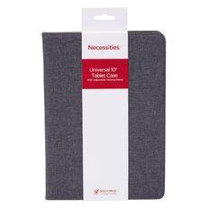 Necessities Brand 10 inch Tablet Case Grey