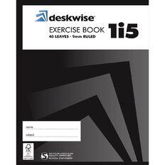 Deskwise Exercise Book 1I5 9mm Ruled 40 Leaf
