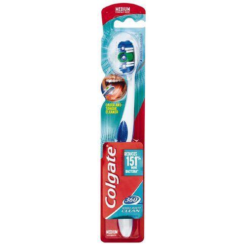 Colgate Toothbrush 360 Degree Medium Assorted Colours