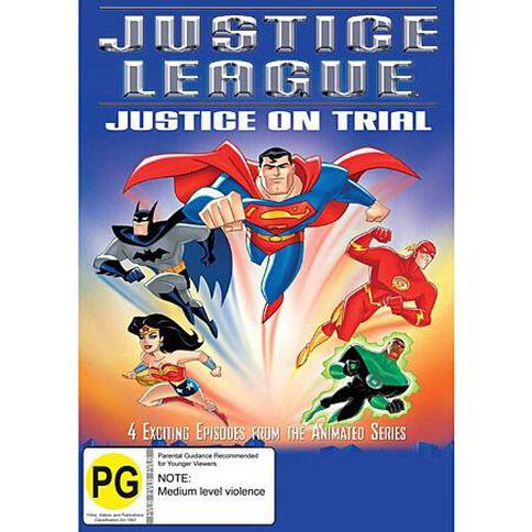 Justice League On Trial DVD 1Disc
