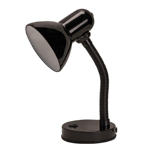 Necessities Brand Study Desk Lamp Black 33cm
