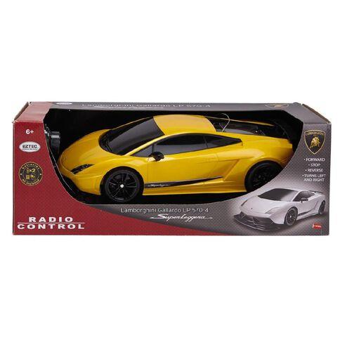 Eztec Radio Control Lamborghini Gallardo LP570-4 Superleggera 1:10 6v
