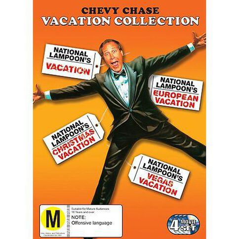 Vacation Collection 4DVD
