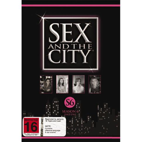 Sex And The City Season 6 Part 1 DVD 3Disc