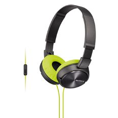 Sony Headphones with Mic MDR-ZX310APH Yellow