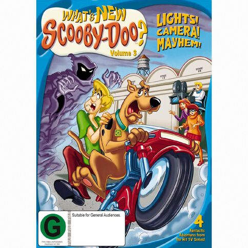 Scooby Doo Whats New Volume 3 DVD 1Disc