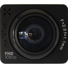 3-SIXT Full HD 360 Deg Wi-Fi Sports Action Camera 1080P Black