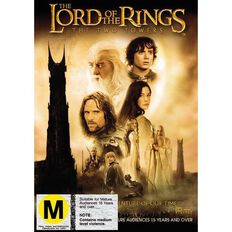 Lord Of The Rings Two Towers DVD 1Disc