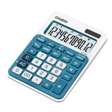 Casio Desktop Calculator MS20 Blue