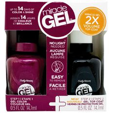 Sally Hansen Miracle Gel Duo Pack Mad Women 500