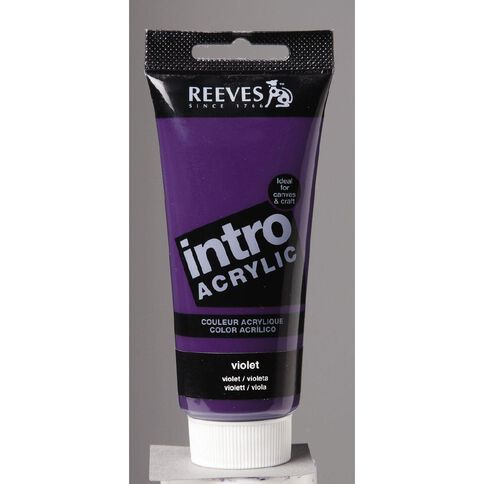Reeves Intro Acrylic Violet 100ml