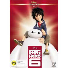 Big Hero 6 Disney Classics DVD 1Disc