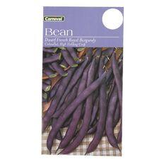 Carnival Seeds Beans Dwarf French Royal Burgundy