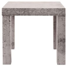 Living & Co Concrete Look Square Side Table