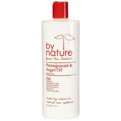 By Nature Body Lotion Pomegranate/Argan Oil 500ml
