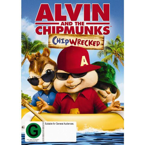 Alvin And The Chipmunks Chipwrecked DVD 1Disc