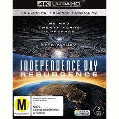 Independence Day 2 4K Blu-ray 2Disc