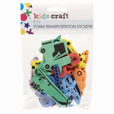 Kids' Art & Craft Stickers Foam Transportation 8g