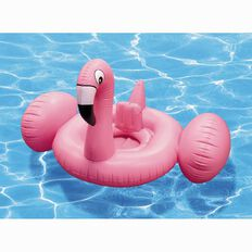 Inflatable Flamingo with Seat Kids