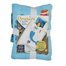 As Seen On TV Dreamers Mermaid Blanket Set