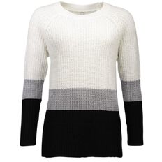 Maya Lurex Stripe Jumper