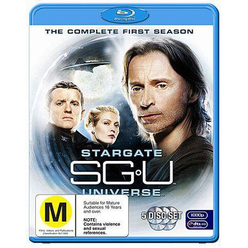 Stargate Universe Season 1 Blu-ray 5Disc