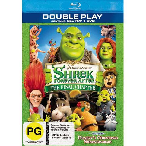 Shrek Forever After Blu-ray/DVD 2Disc