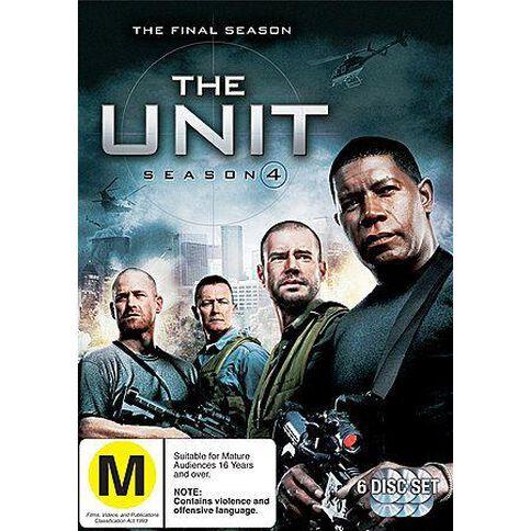 Unit The Season 4 DVD 1Disc