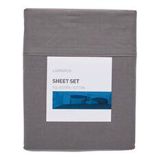 Living & Co Sheet Set Charcoal